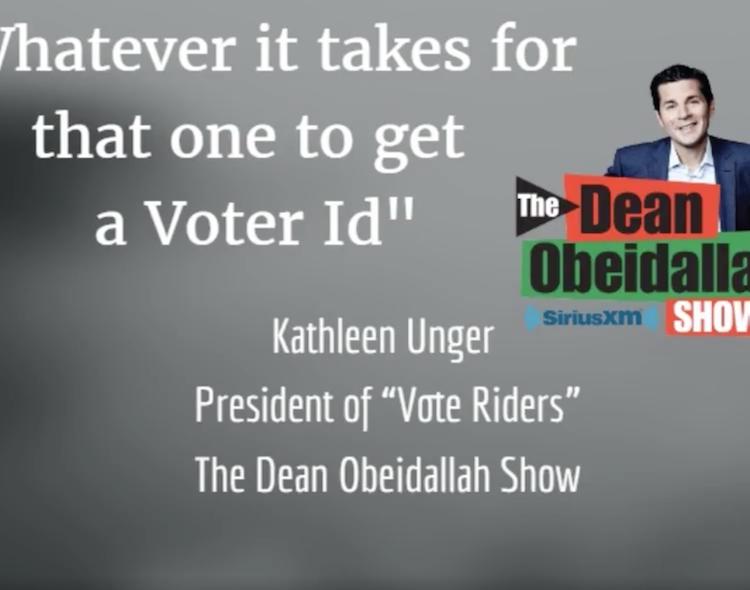 Kathleen Unger on Dean Obeidallah Show