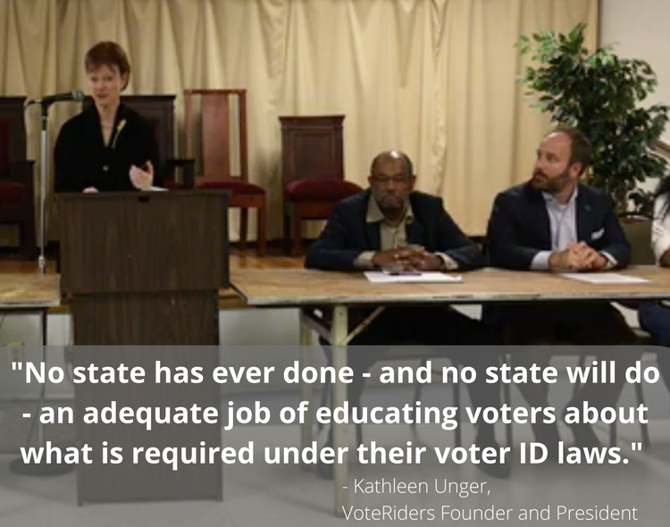 Voting Rights in Virginia: Live Panel Discussion featuring Kathleen Unger