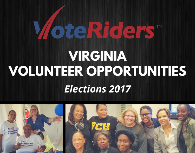 Nationwide call for volunteers:  November 7 Virginia elections