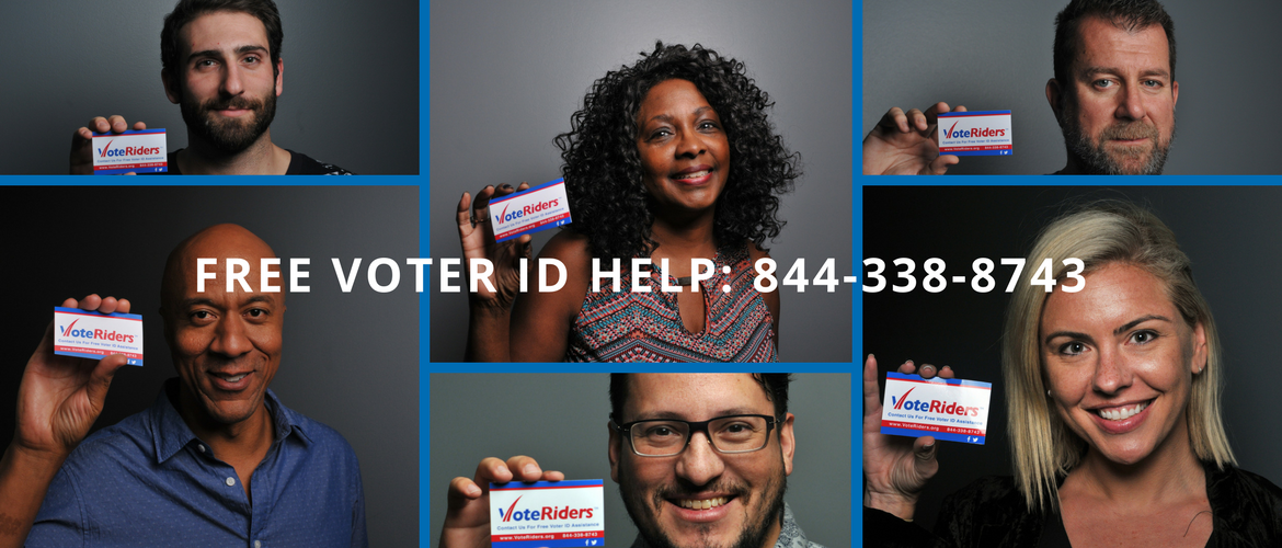 Free Voter ID Help: 844-338-8743, image credit: Don Lupo