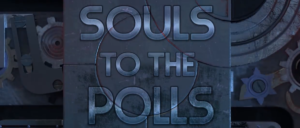 Souls to the Polls header graphic