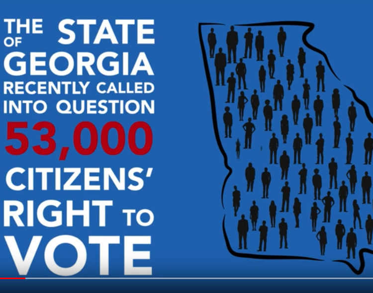 Georgia: Don't Let Anyone Stop You From Voting!