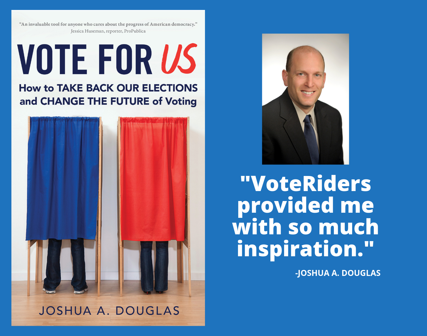 Vote for US by J. Douglas