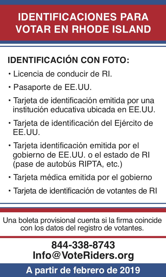 ID para votar en