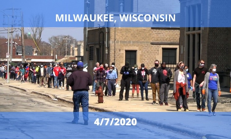 Field Report: Election Day 2020 in Milwaukee