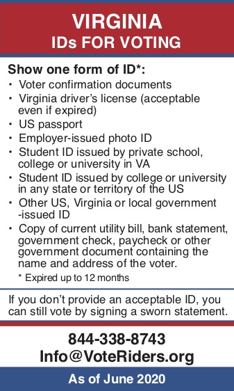 Pocket Guide to VA Voter ID