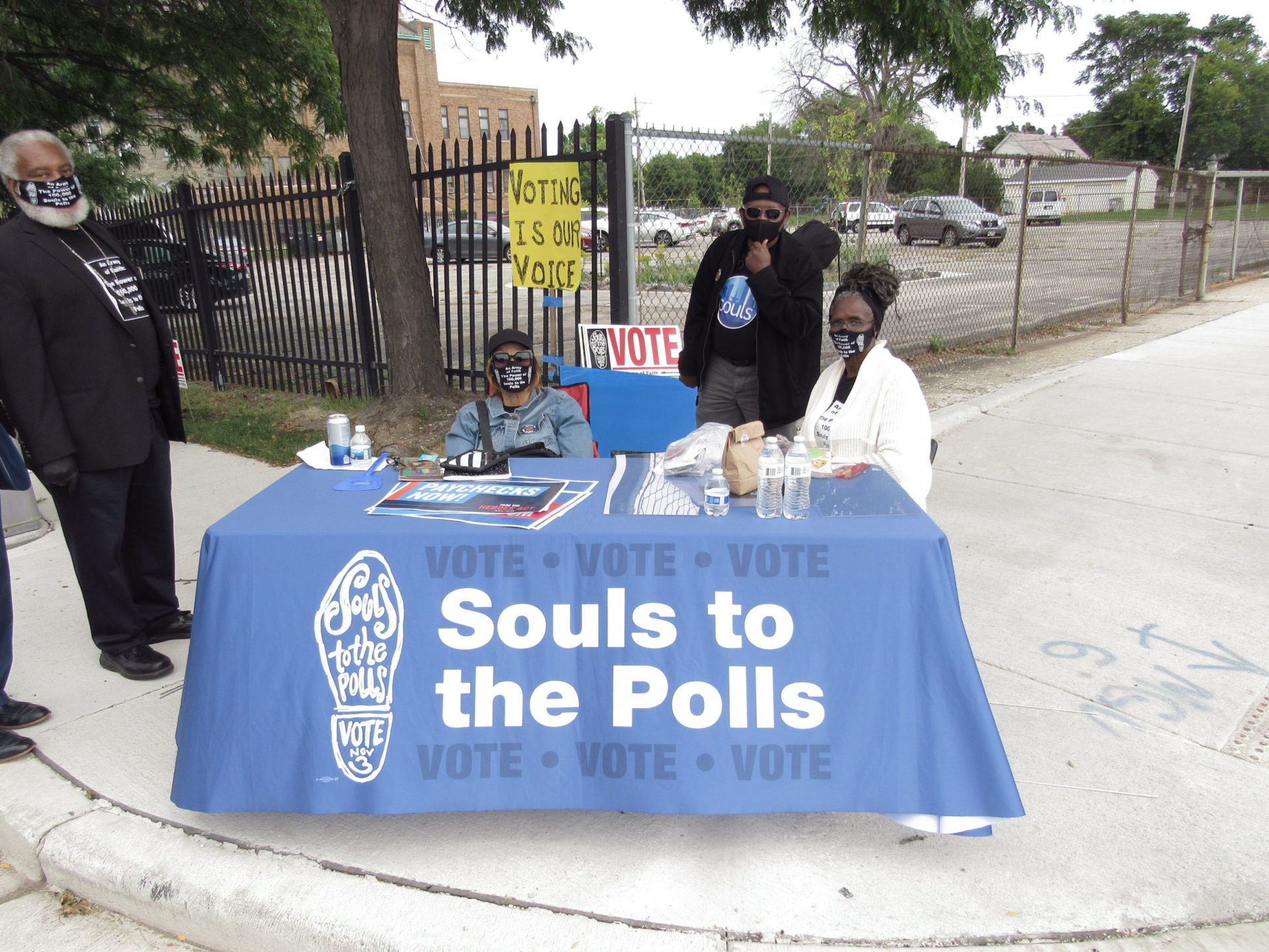 Souls to the Polls table